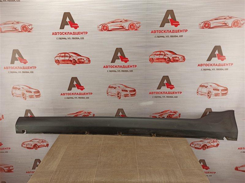 Накладка порога кузова - наружная облицовка Lada Vesta левая