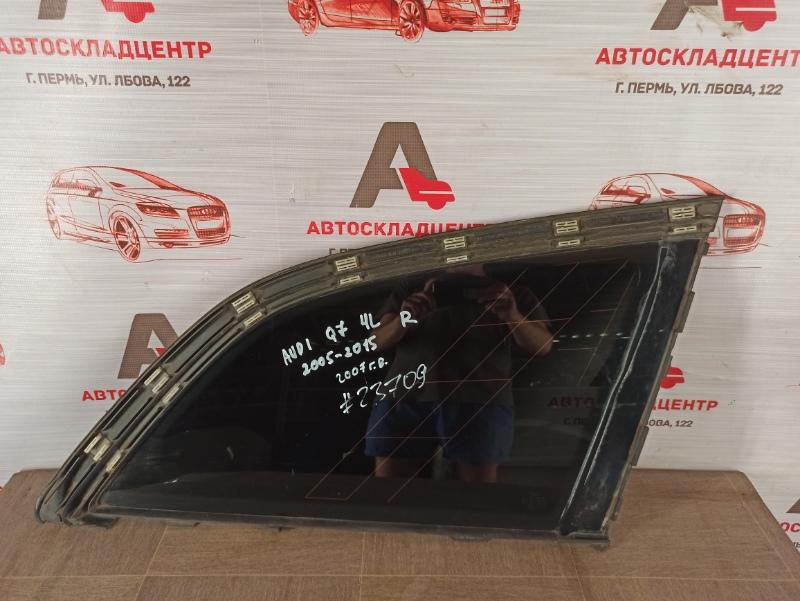 Стекло кузова боковое Audi Q7 (2005-2015) заднее правое