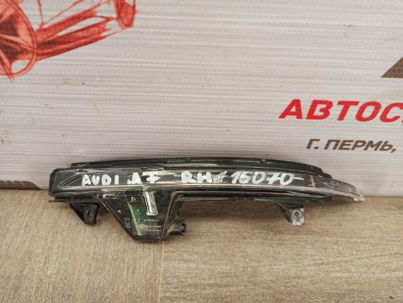 Фонарь - повторитель указателя поворота. Audi A7 (2010-2018) левый