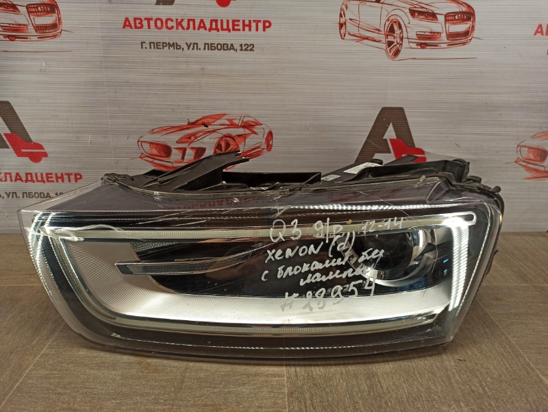 Фара левая Audi Q3 (2011-2019) 2011