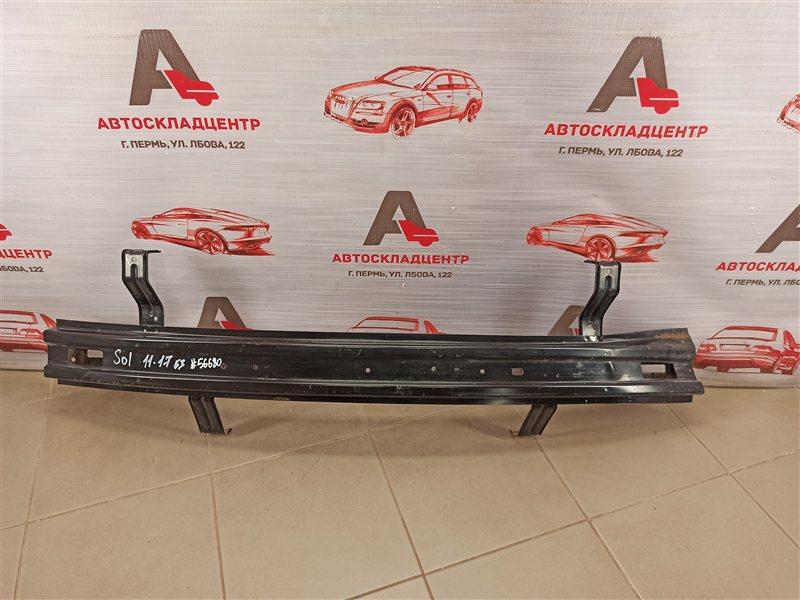 Усилитель бампера заднего Hyundai Solaris (2010-2017) 2010