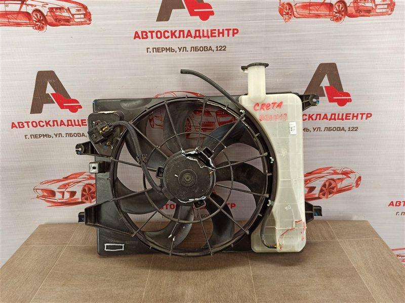 Диффузор радиатора охлаждения - в сборе Hyundai Creta (2015-Н.в.)