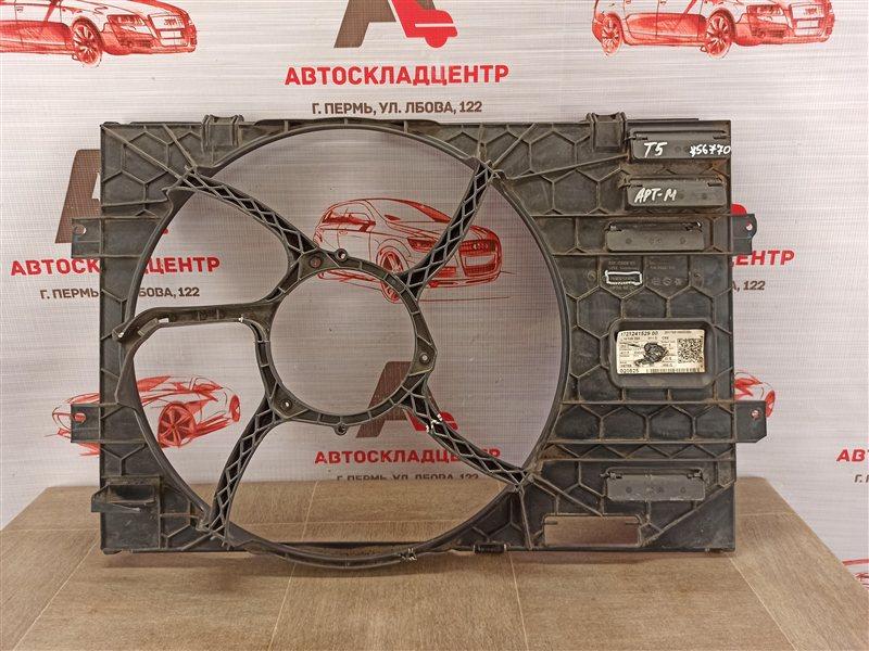 Диффузор радиатора охлаждения - рамка вентиляторов Volkswagen T5 (Transporter / Caravelle / Multivan)