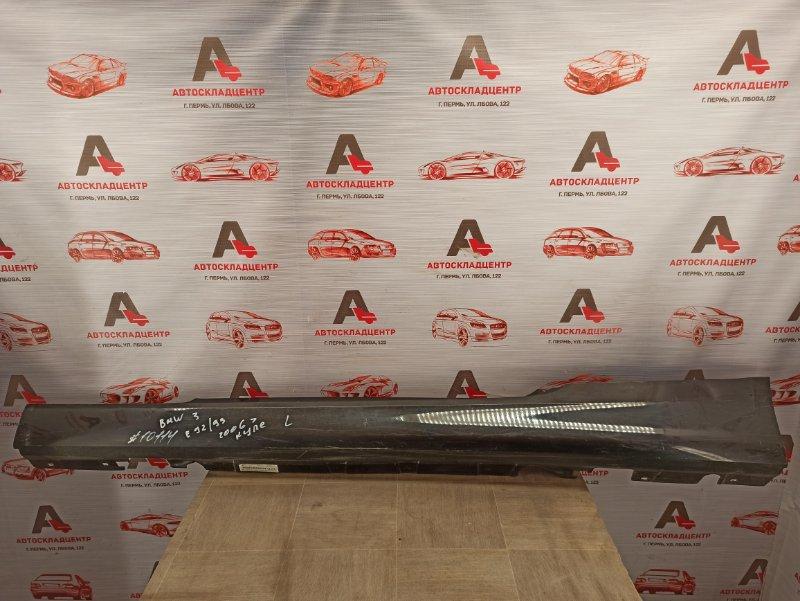 Накладка порога кузова - наружная облицовка Bmw 3-Series (E90/91/92/93) 2004-2014 левая