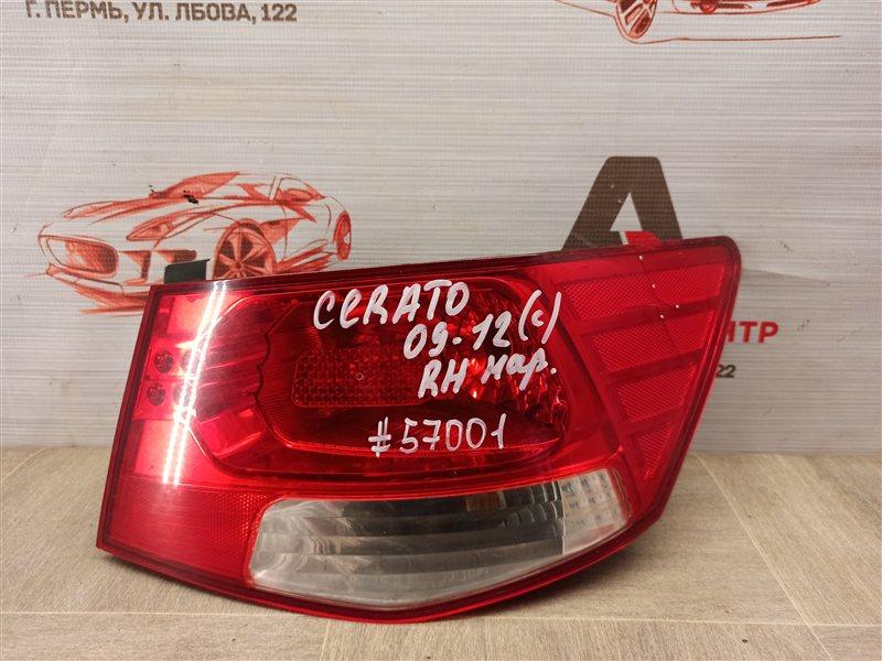 Фонарь правый Kia Cerato (2008-2013) G4FC (1600CC) 2012