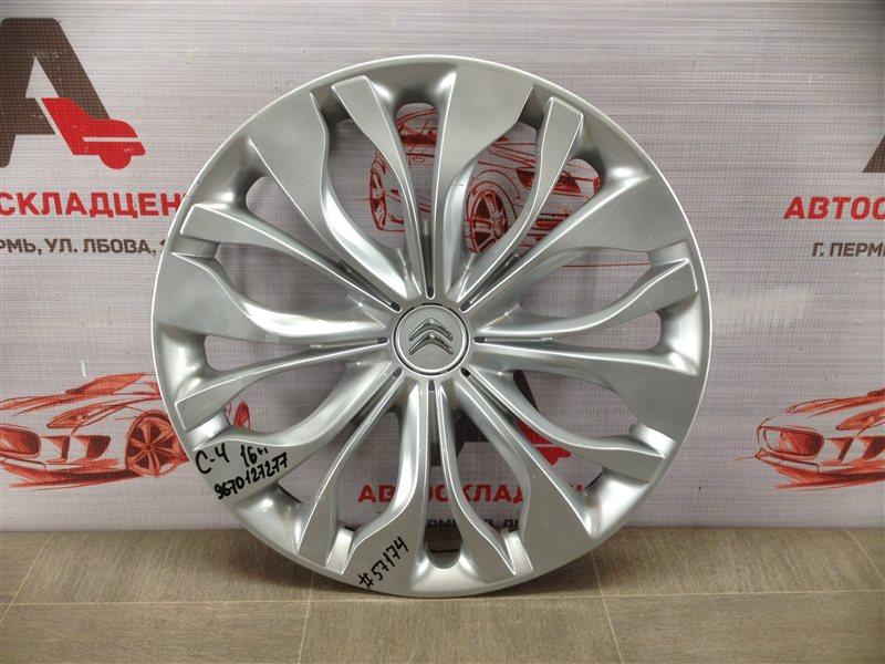 Колпак колесного диска Citroen C4 2010-Н.в.