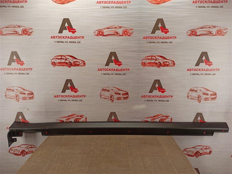Накладка порога кузова - наружная облицовка Kia Sorento Prime (2014-Н.в.) правая