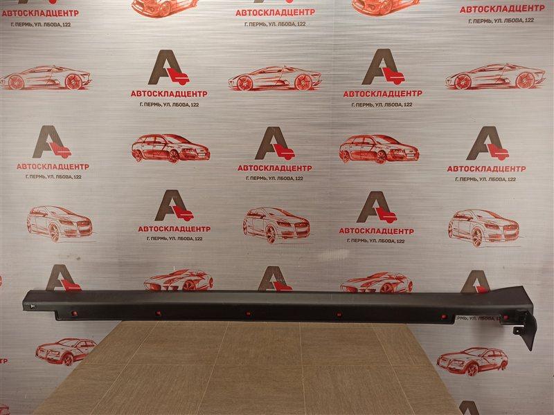 Накладка порога кузова - наружная облицовка Kia Sorento Prime (2014-Н.в.) левая