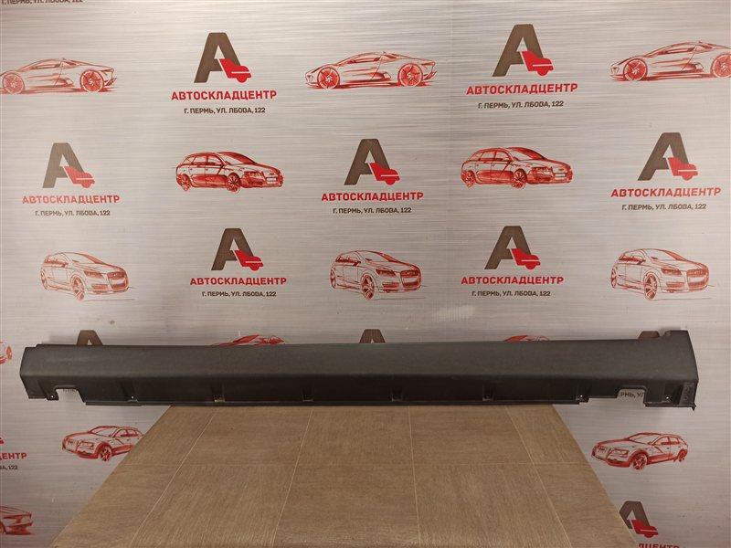 Накладка порога кузова - наружная облицовка Kia Sorento (2009-Н.в.) левая