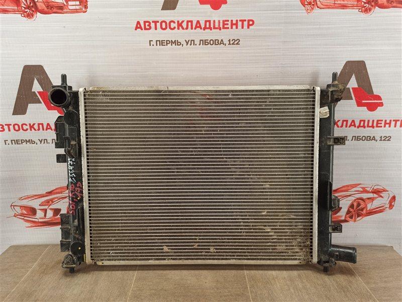 Радиатор охлаждения двигателя Kia Rio (2017-Н.в.)