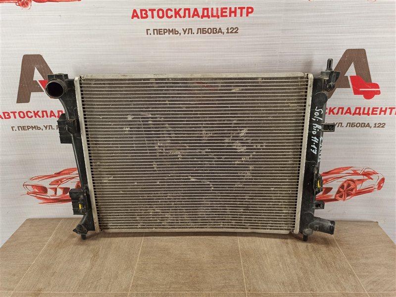 Радиатор охлаждения двигателя Hyundai Solaris (2010-2017)