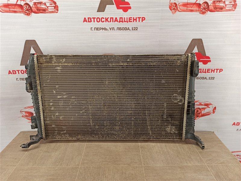 Радиатор охлаждения двигателя Renault Duster (2010-Н.в.) 1.5 (1500CC) DISEL K9K