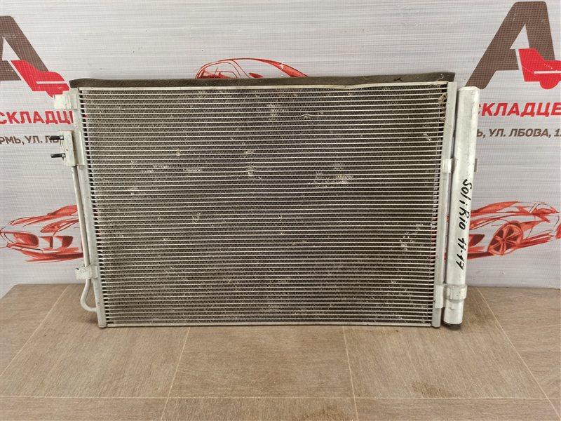 Конденсер (радиатор кондиционера) Hyundai Solaris (2010-2017)