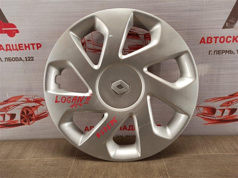 Колпак колесного диска Renault Logan (2014-Н.в.)