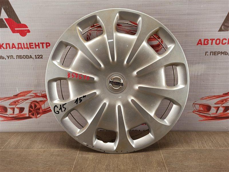 Колпак колесного диска Nissan Almera (2012-2019)