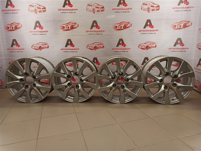 Диск колеса (литой) - комплект Toyota Land Cruiser 200 (2007-Н.в.)