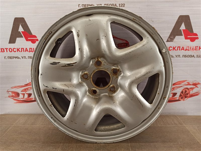 Диск колеса (штампованный) Toyota Rav-4 (Xa40) 2012-2019