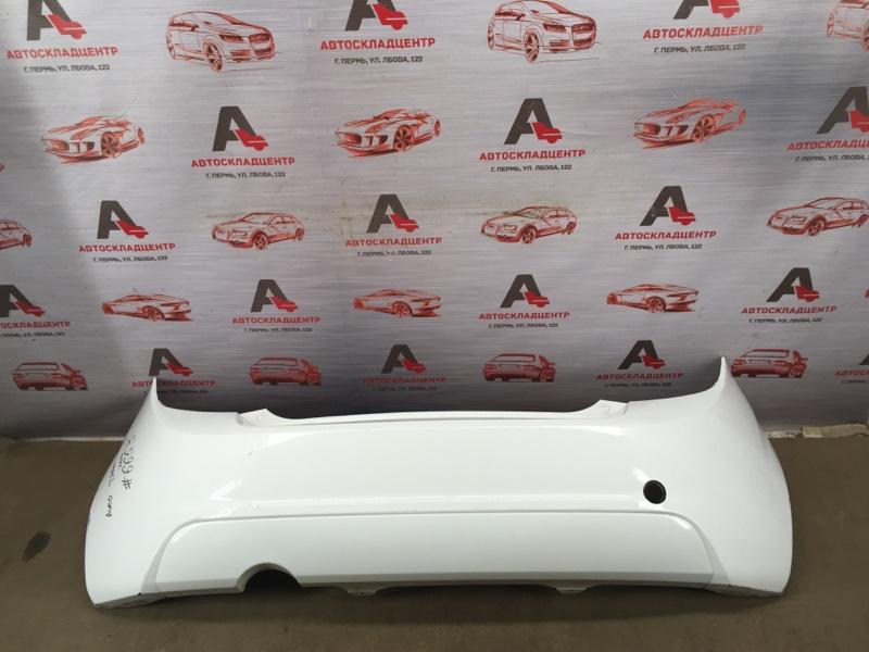 Бампер задний Chevrolet Aveo 2012-2015