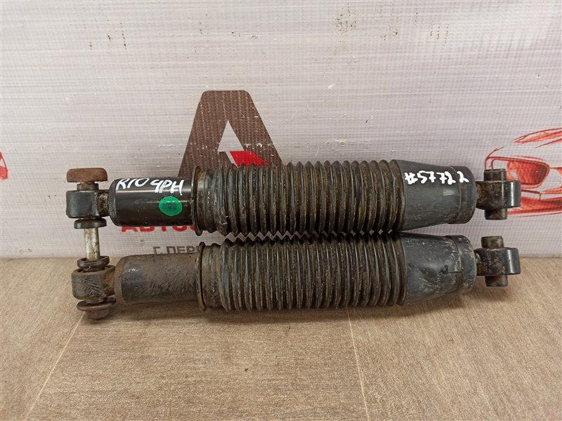 Амортизатор (амортизационная стойка) подвески Kia Rio (2011-2017) G4FC (1600CC) 2012 задний