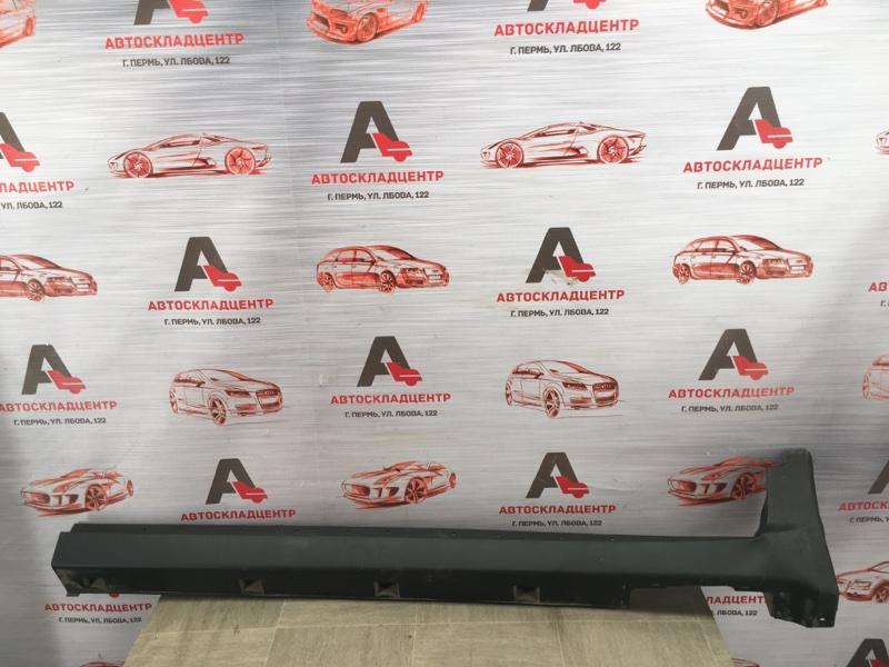 Накладка порога кузова - наружная облицовка Chevrolet Captiva правая