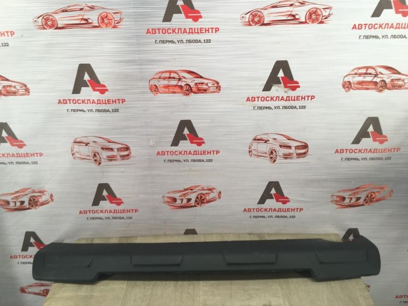 Спойлер (накладка) бампера заднего Chevrolet Orlando