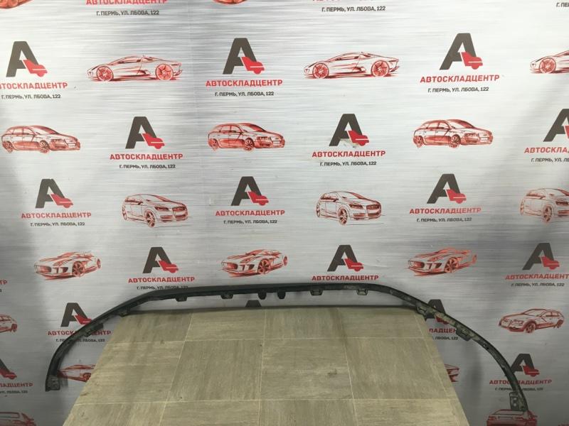 Спойлер (юбка) бампера переднего Chevrolet Cruze 2012