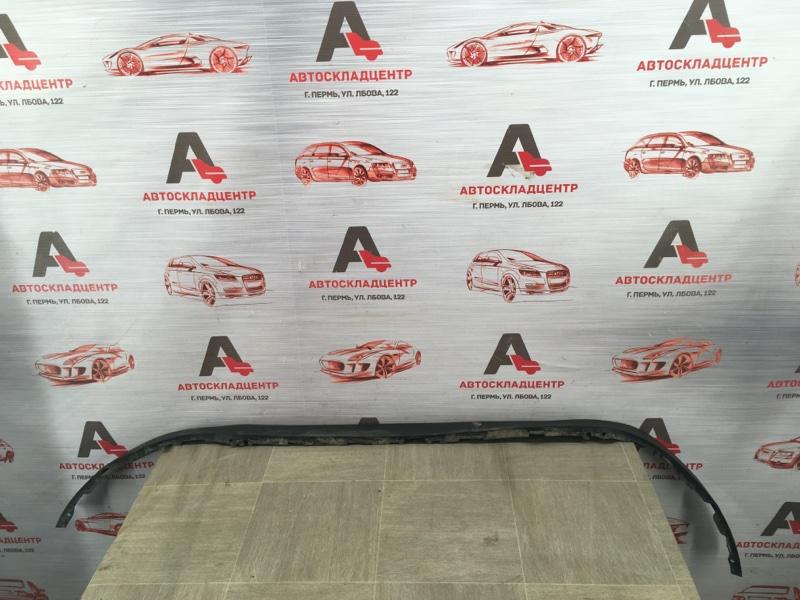 Спойлер (юбка) бампера переднего Chevrolet Aveo 2012-2015