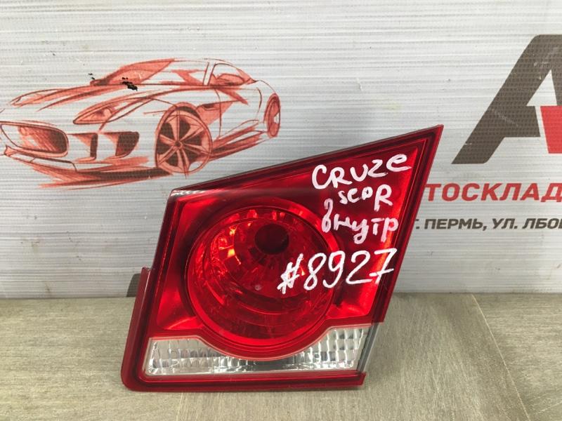 Фонарь правый - вставка в дверь / крышку багажника Chevrolet Cruze