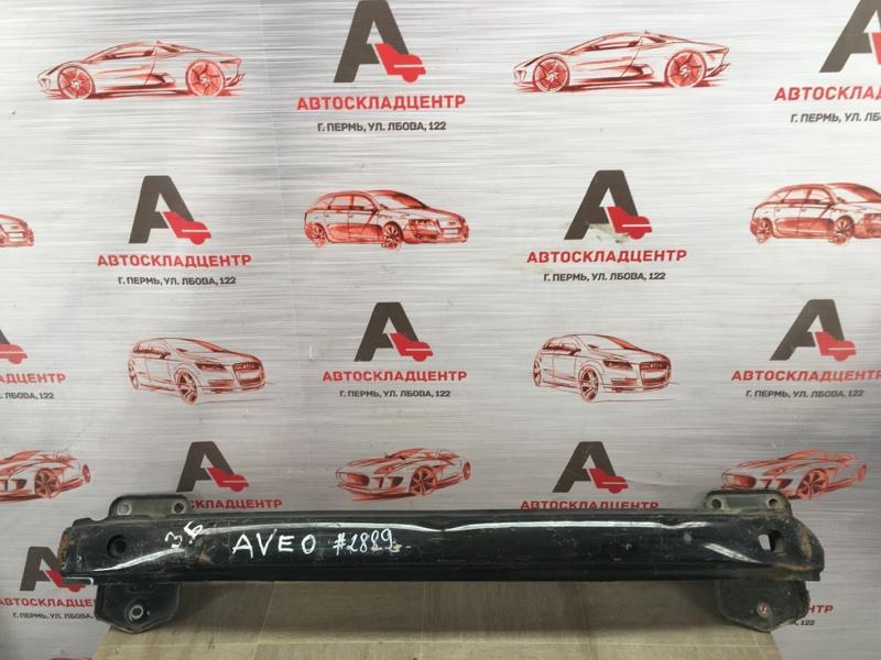 Усилитель бампера заднего Chevrolet Aveo 2002-2011
