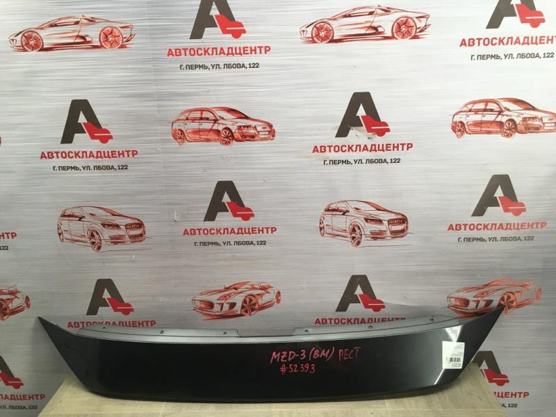 Решетка радиатора - накладка Mazda Mazda 3 (Bm) 2013-Н.в.