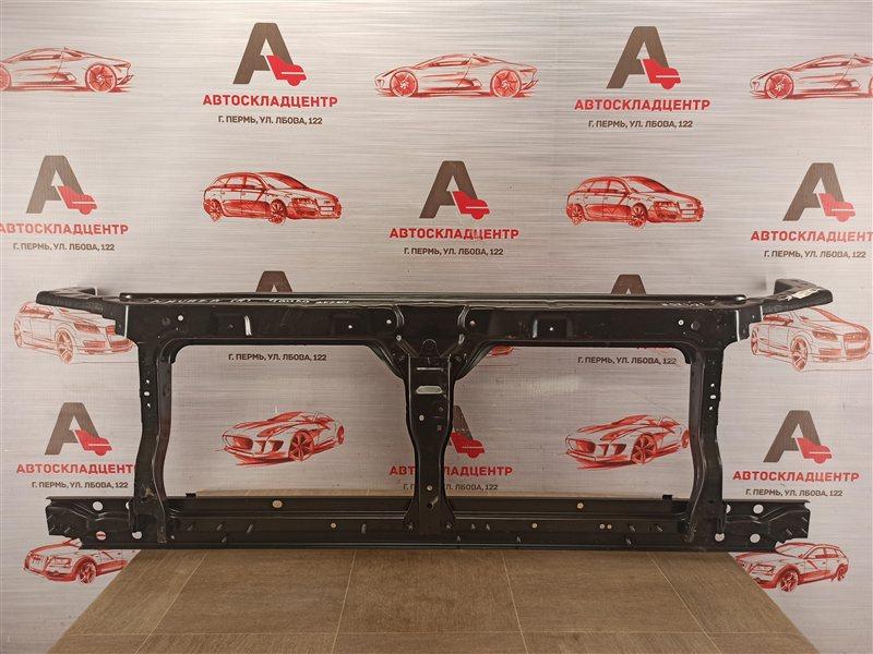 Панель передка (телевизор) - рамка радиатора Nissan Pathfinder / Navara (2004-2014)