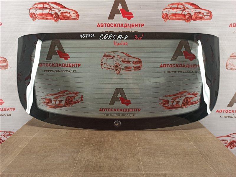 Стекло двери багажника Opel Corsa - D (2006-2014)
