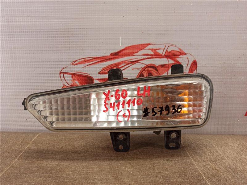 Фонарь - указатель поворота Lifan X60 (2012-Н.в.) 2012 левый