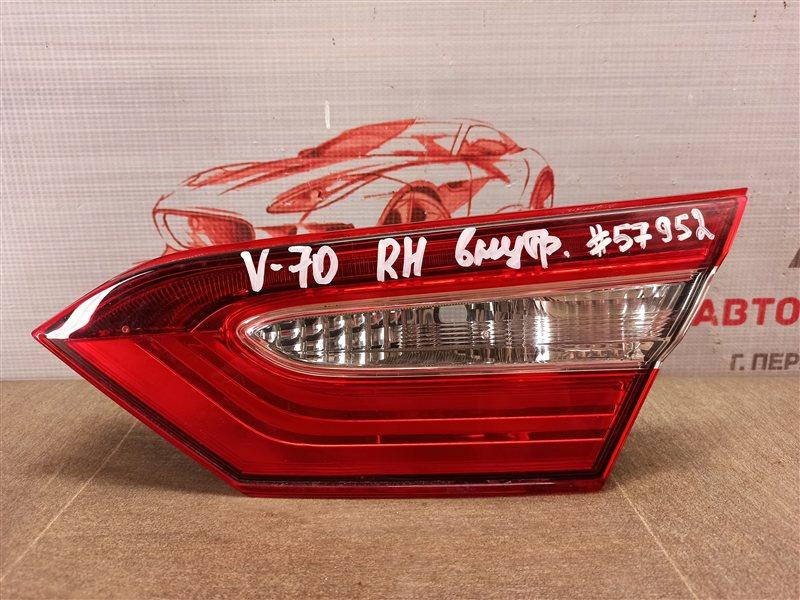 Фонарь правый - вставка в дверь / крышку багажника Toyota Camry (Xv70) 2017-Н.в.