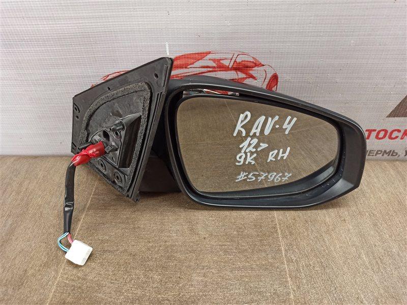 Зеркало правое Toyota Rav-4 (Xa40) 2012-2019