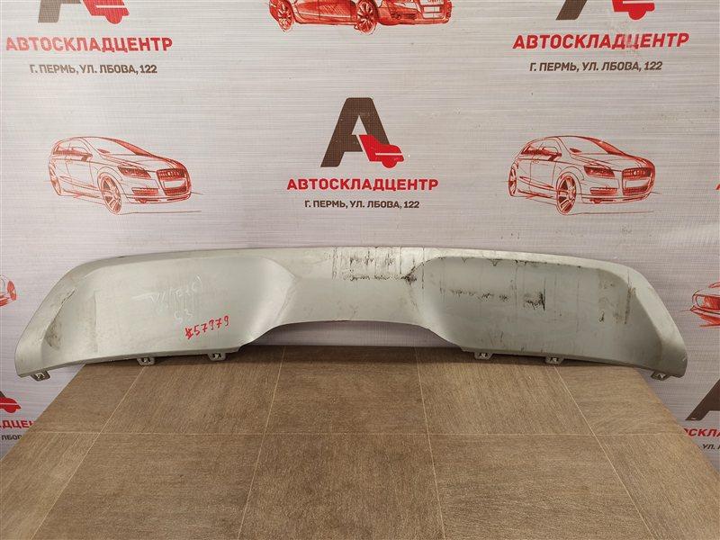 Спойлер (накладка) бампера заднего Bmw X6-Series (F16) 2014-2019