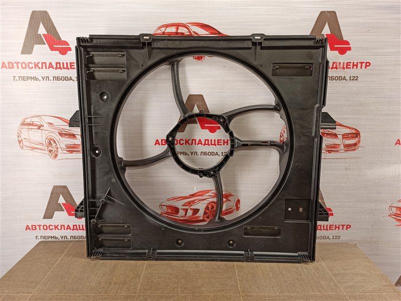 Диффузор радиатора охлаждения - рамка вентиляторов Volkswagen Amarok (2010-Н.в.)