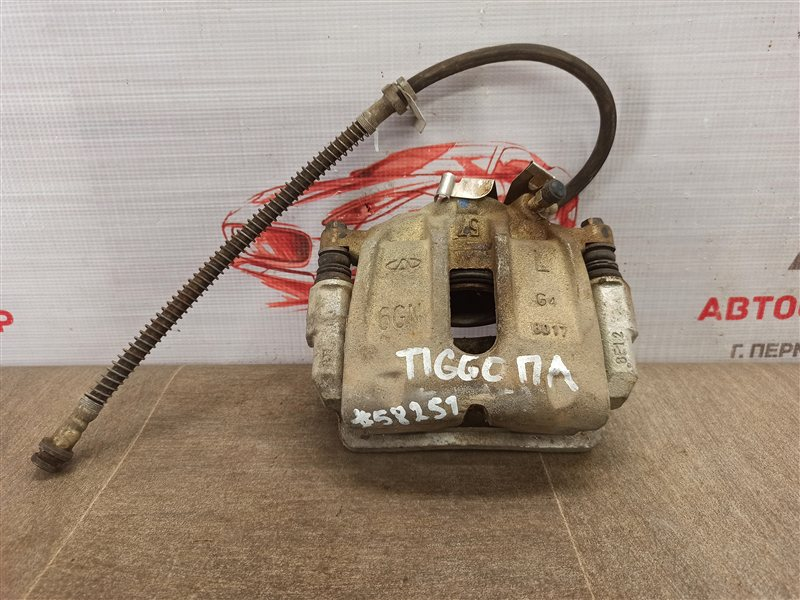 Тормозная система - суппорт Chery Tiggo 2006-2016 SQR481FC ( 1800CC ) 2008 передняя левая