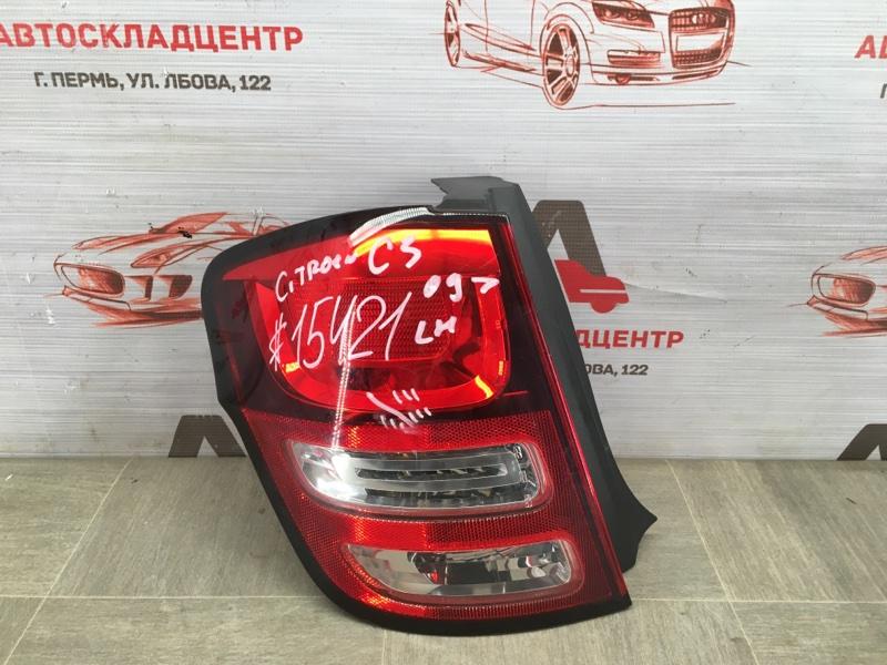 Фонарь левый Citroen C3 2009-2014