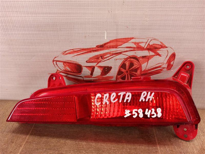 Фонарь противотуманный Hyundai Creta (2015-Н.в.) правый