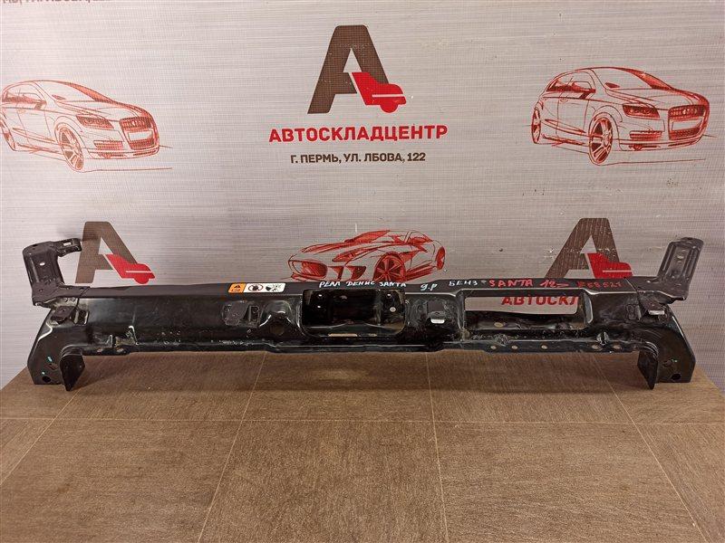 Панель передка (телевизор) - полка замка капота Hyundai Santa-Fe (2012-2019)