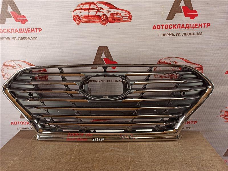 Решетка радиатора Hyundai Sonata (2017-Н.в.) Lf
