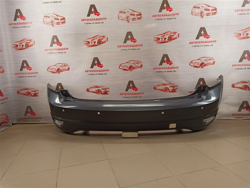 Бампер задний Ford Focus 2 2004-2011 2007