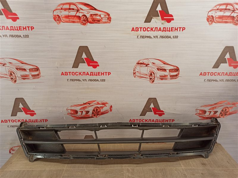 Решетка бампера переднего Hyundai Solaris (2010-2017) 2014
