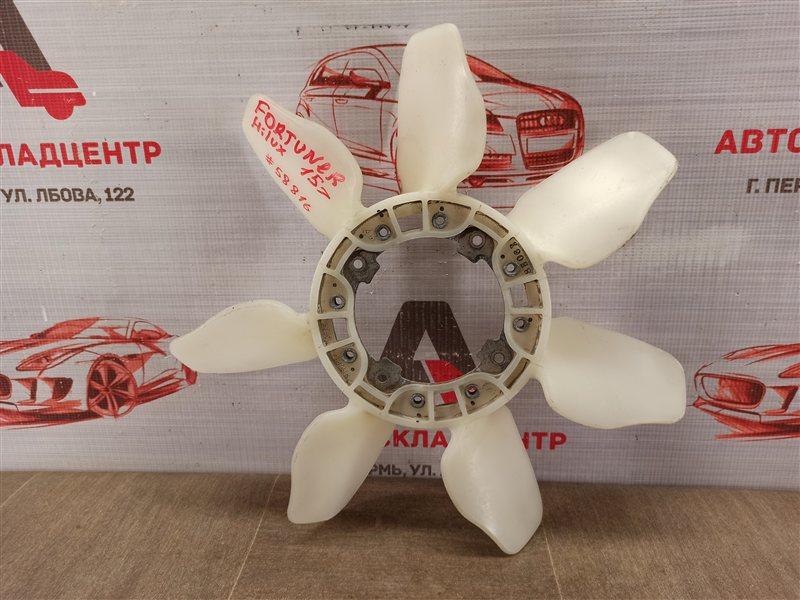 Вентилятор радиатора охлаждения - крыльчатка Toyota Fortuner (An160) 2015-Н.в.