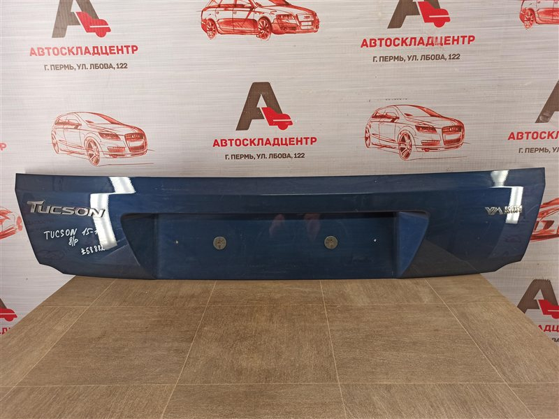 Накладка / молдинг двери багажника Hyundai Tucson (2015-Н.в.)