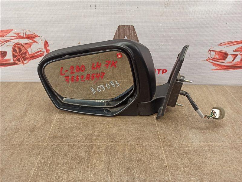 Зеркало левое Mitsubishi L200 (2005-2016)