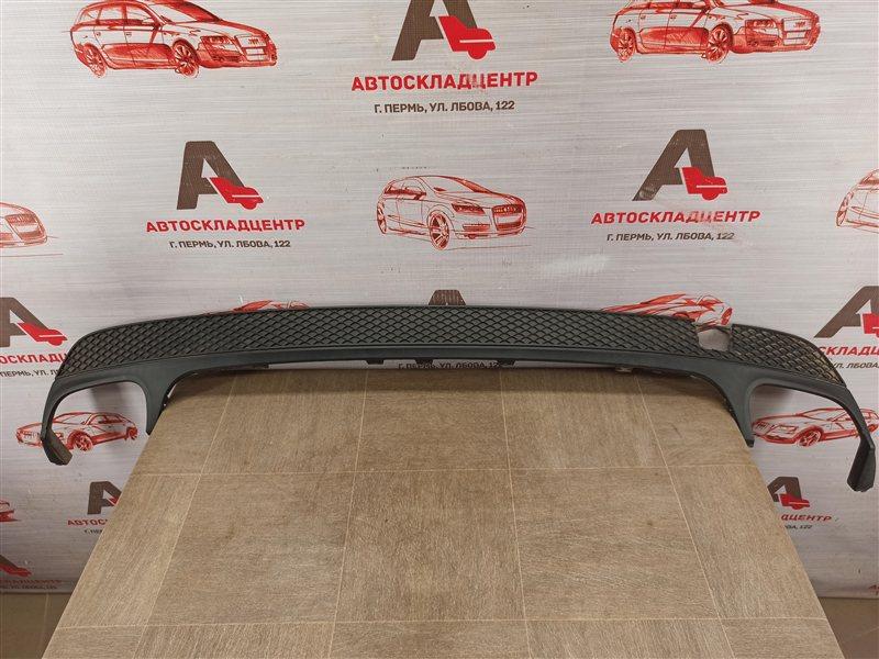 Спойлер (накладка) бампера заднего Mercedes Cla-Klasse (W117) 2013-2019 2013