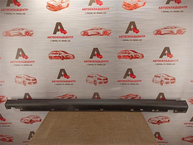 Накладка порога кузова - наружная облицовка Nissan Almera (2012-2019) левая