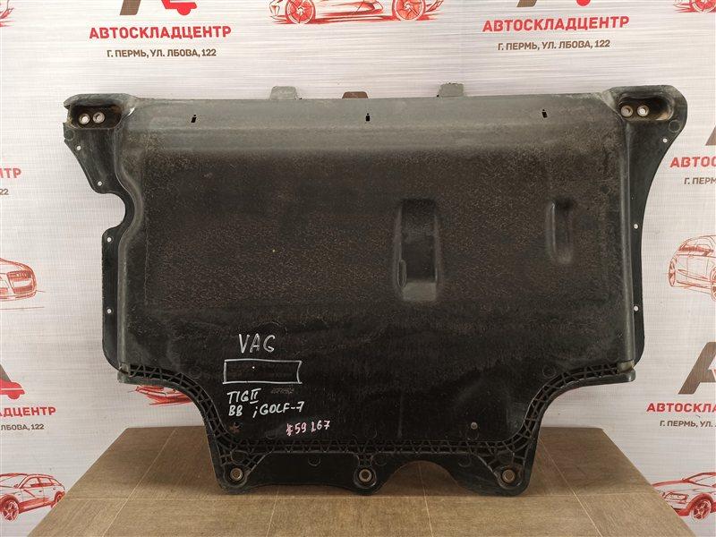 Защита картера двс (моторного отсека) Volkswagen Golf (Mk7) 2012-2019